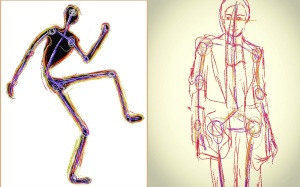 robotic-figure-drawings