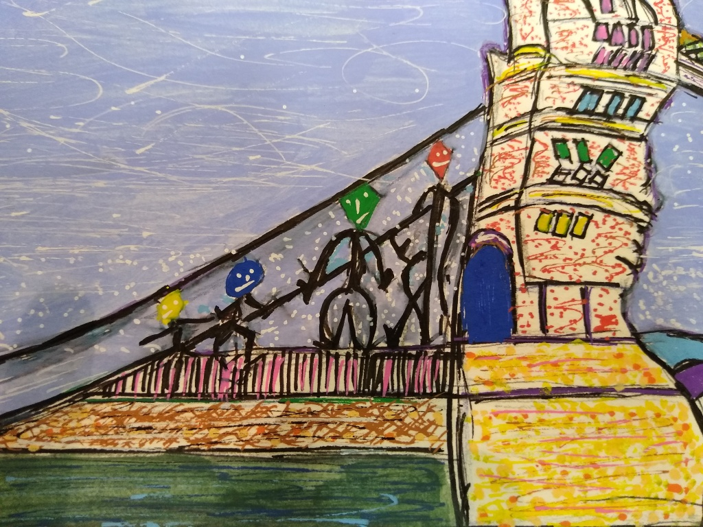Tower-bridge-painting-detail