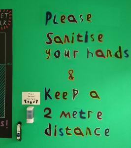 Safe-distance-mural