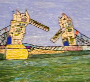 Tower-bridge-painting
