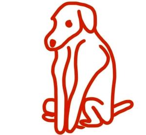 Line-ske tch-dog