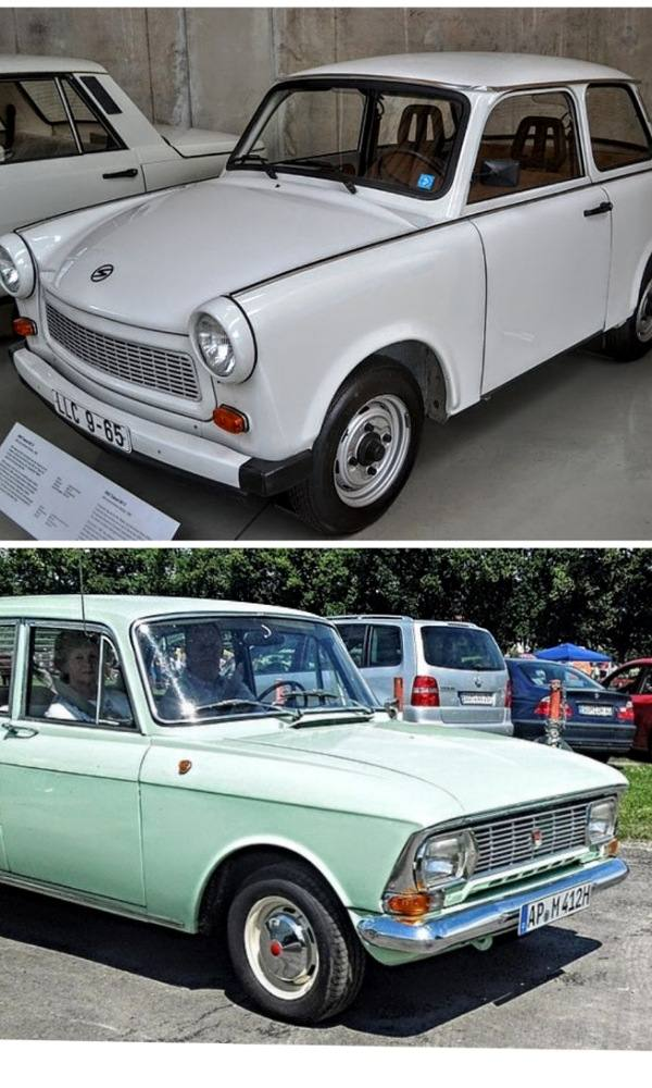 Trabant-moskovitch-cars
